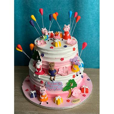 Торта Peppa Pig