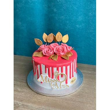 Торта Рози в розово