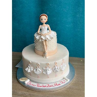 Торта Балерина 2