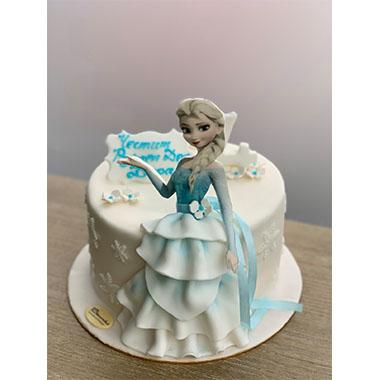 Торта Елза 4