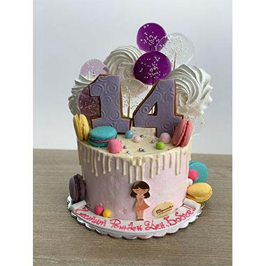 Торта Целувки и Макарони 2