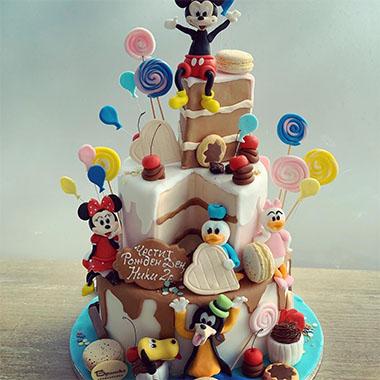 Торта Мики и и приятели 2