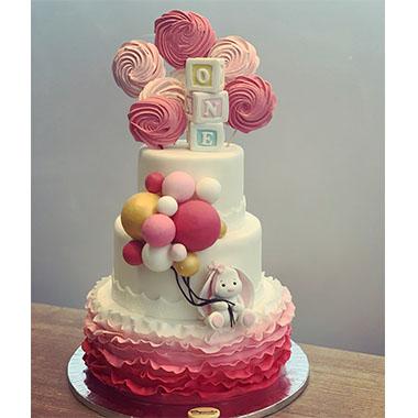 Торта Зайче и балони 2