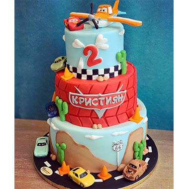 Торта Светкавицата Маккуийн