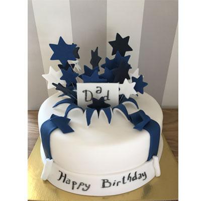 Торта Синя звезда