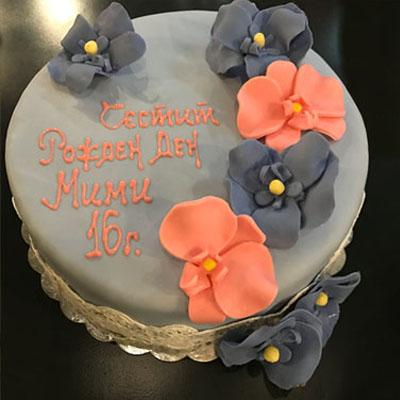 Торта Орхидея