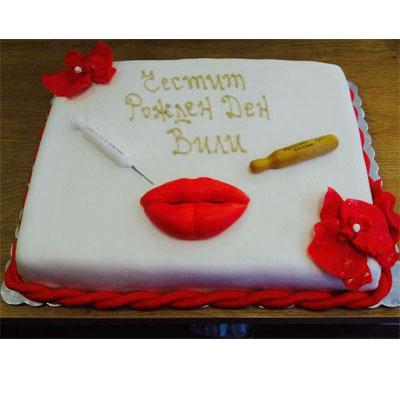 Торта Целувка
