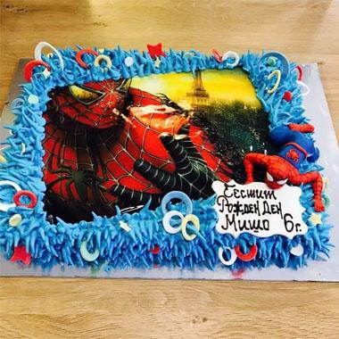 Торта Спайдърмен - K 16
