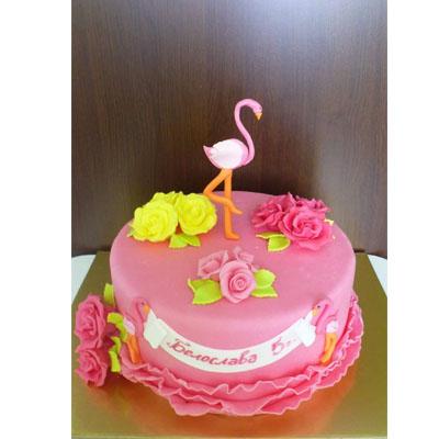 Торта Фламинго 2
