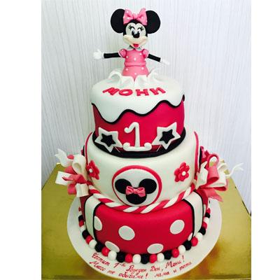 Торта Мини Маус 2