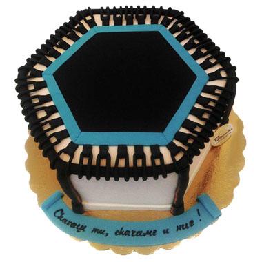Торта Батут