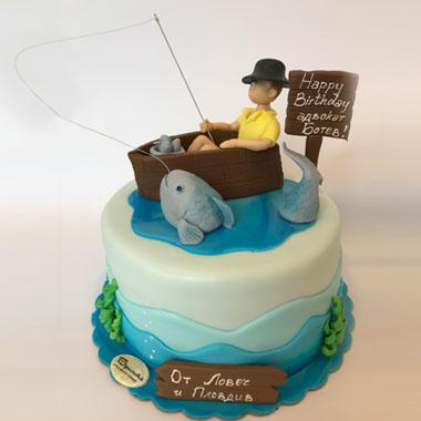 Торта Риболов